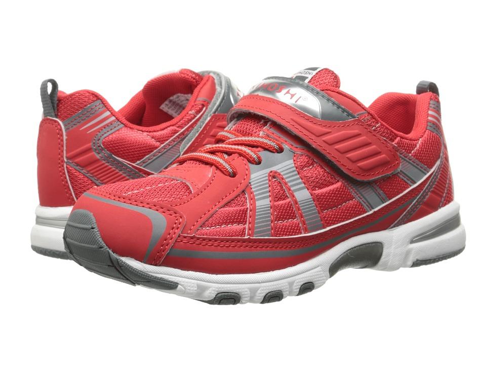 Tsukihoshi Kids - Storm (Toddler/Little Kid) (Red/Gray) Boys Shoes