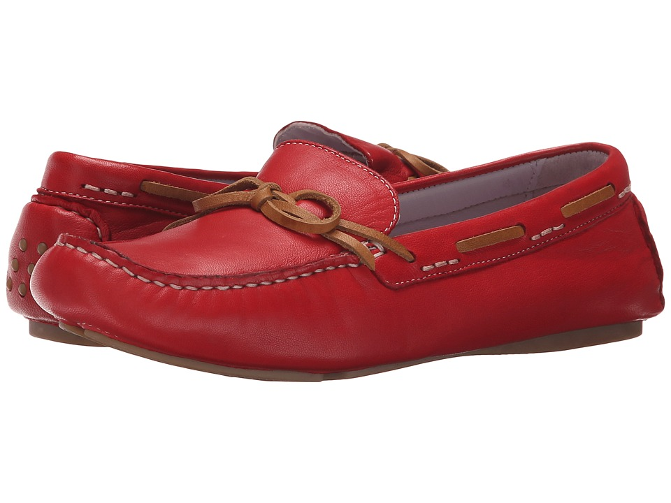 Johnston & Murphy Maggie Camp Moc (Cardinal Red Glove Leather) Women