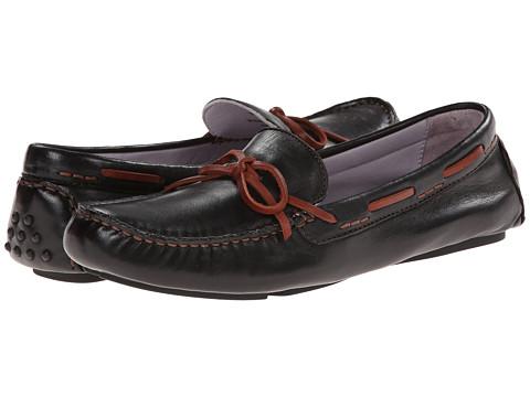 Johnston & Murphy Maggie Camp Moc - Black Glove Leather