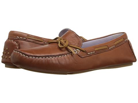 Johnston & Murphy Maggie Camp Moc - Chestnut Glove Leather