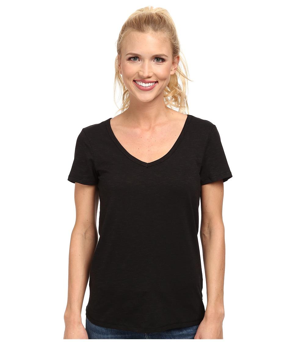 ToadampCo Marley S/S Tee Black Womens Short Sleeve Pullover