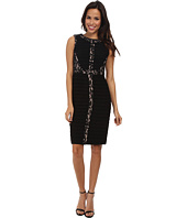 Adrianna Papell - Lace Inset Banded Dress