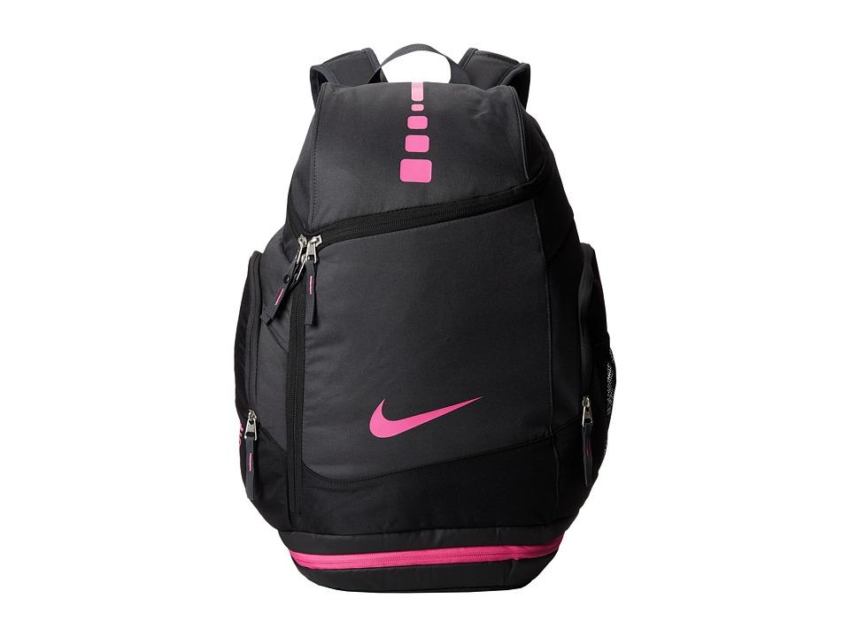 Nike - Hoops Elite Max Air Team Backback (Anthracite/Black/Pinkfire II) Backpack Bags
