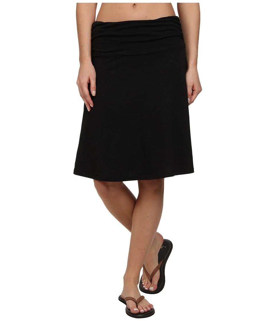 Toad&Co Chaka Skirt (Black) Women