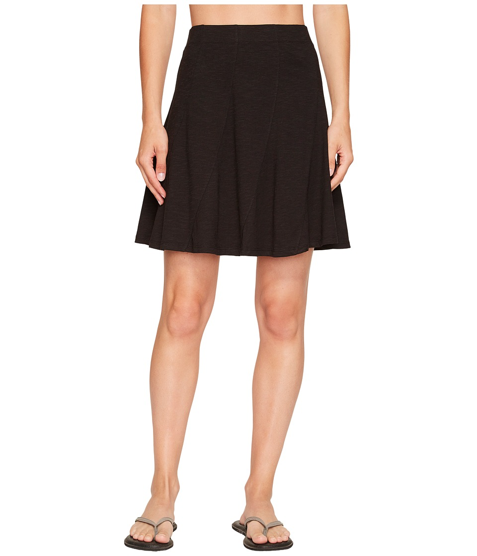 Toad&Co Chachacha Skirt (Black) Women