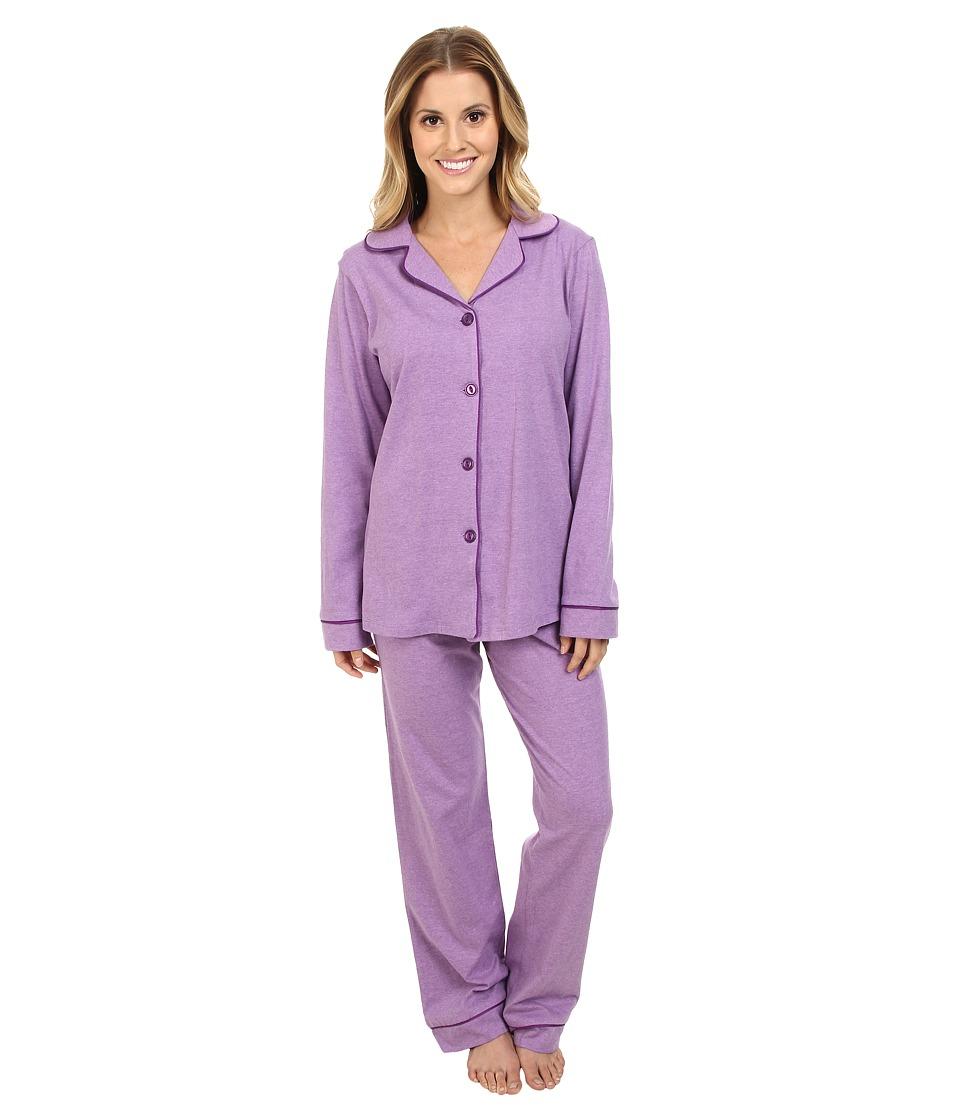 BedHead Classic Stretch PJ Purple Heathered Womens Pajama Sets