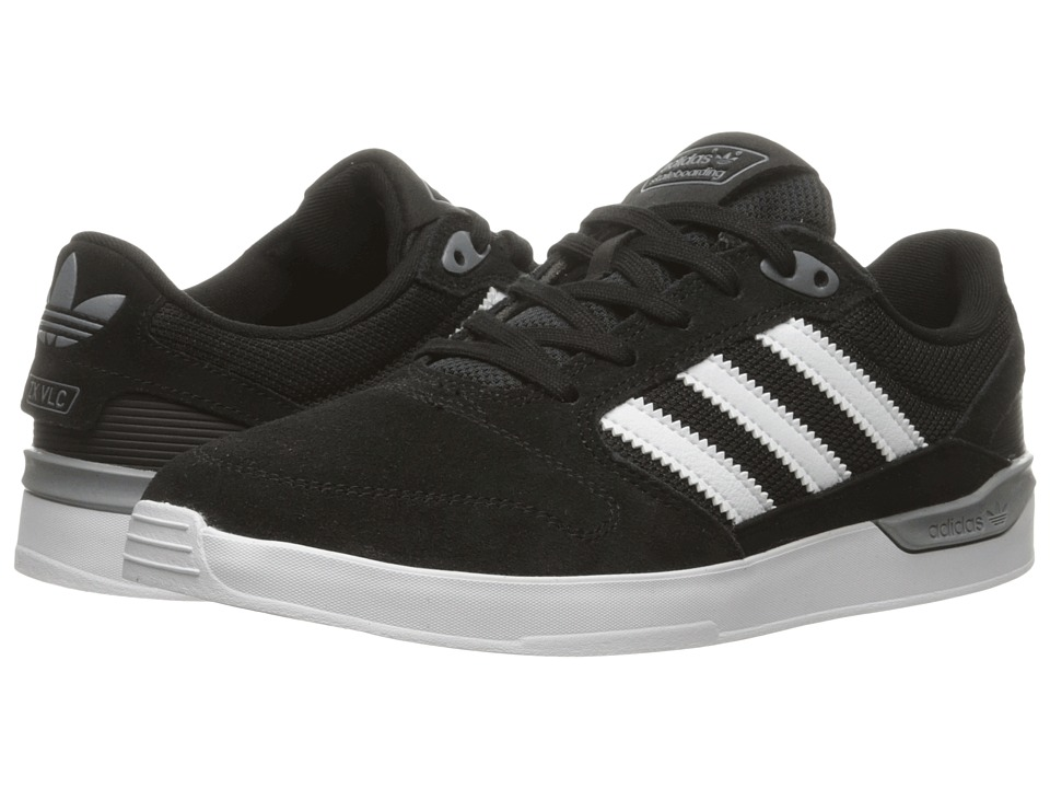 adidas Skateboarding ZX Vulc Black/White Mens Skate Shoes