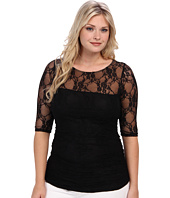 Kiyonna - Smitten Lace Top