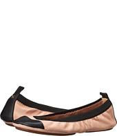 Yosi Samra - Samantha Soft Leather Fold Up Flat with Contrast Cap Toe
