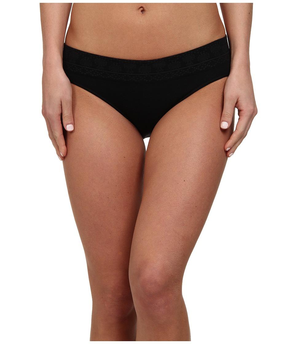 Smartwool PhD(r) Seamless Mid Rise Bikini (Black) Women's...