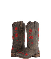 Roper - Brush Off Flower Embroidered Square Toe Boot