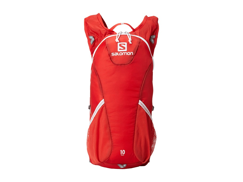 Salomon - Trail 10 Set (Bright Red/White) Backpack Bags