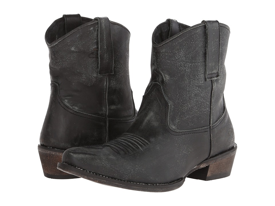 Roper Dusty (Black) Cowboy Boots