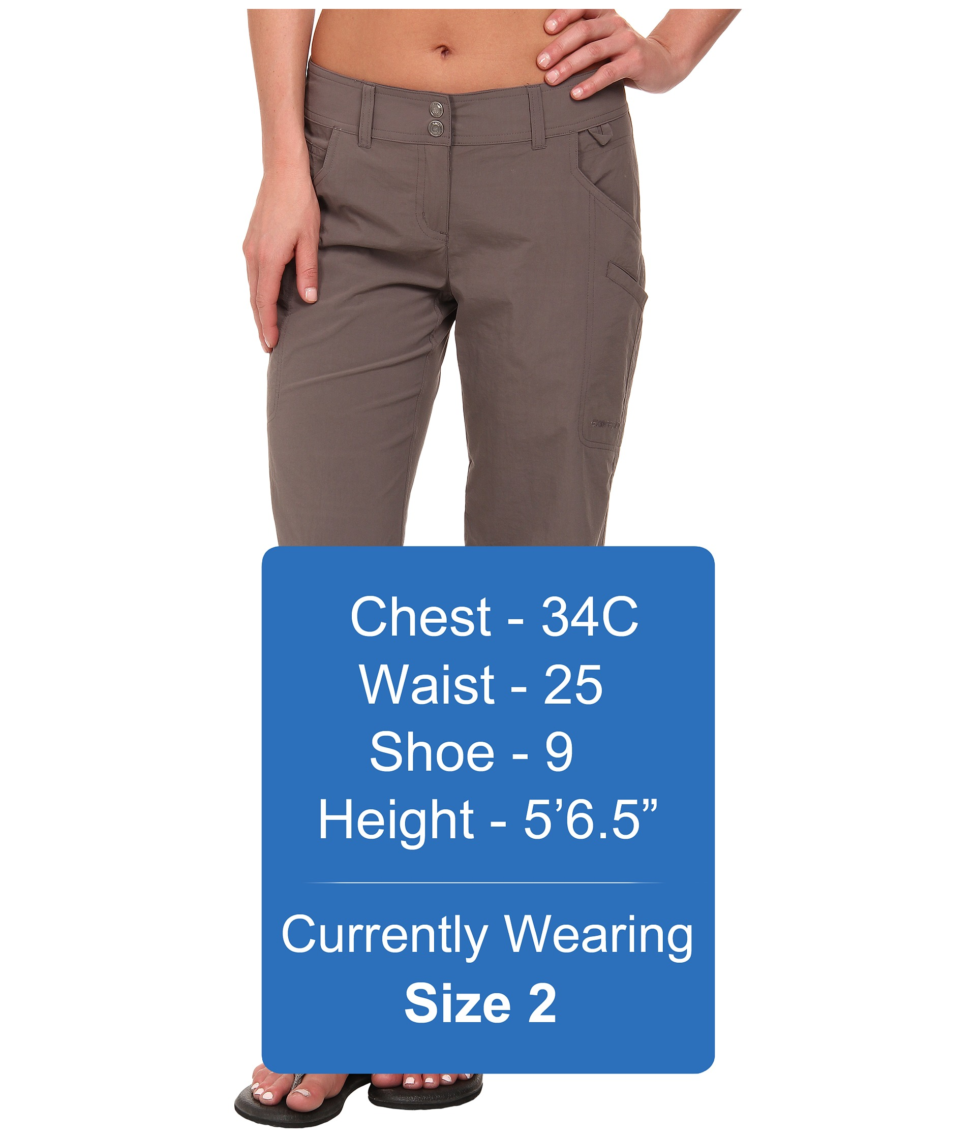 ExOfficio Nomad™ Roll-up Pant at Zappos.com
