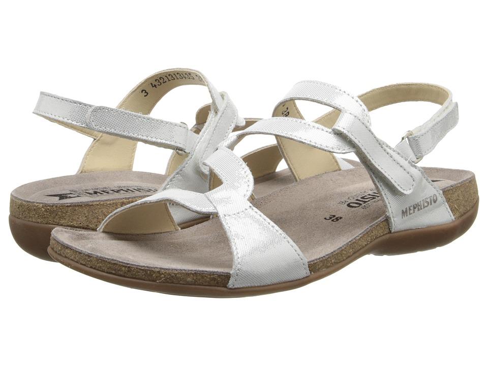 Mephisto Adelie (White Liz) Sandals