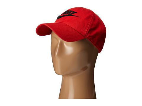 Nike Washed Heritage 86 - University Red/Black