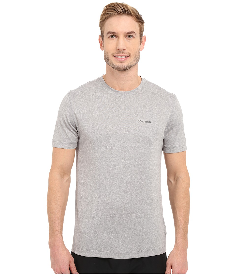 Marmot Conveyor S/S Tee (Steel Heather) Men