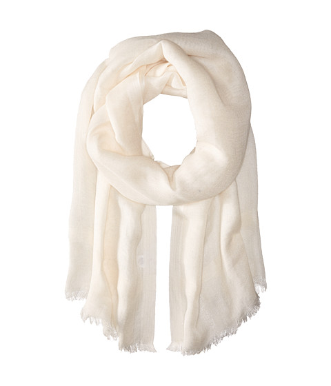 Love Quotes Linen Eyelash Scarf - Souffle