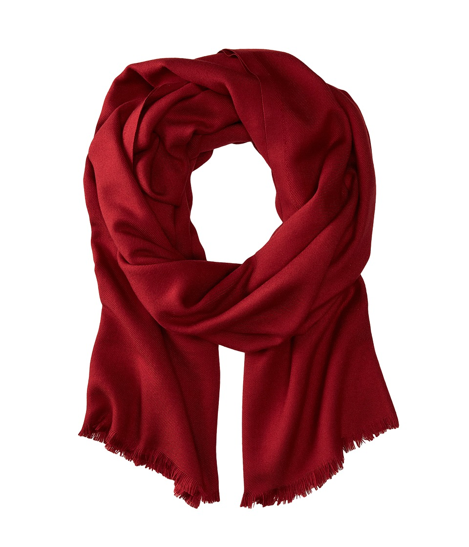 Love Quotes - Rayon Eyelash Scarf (Bordeaux) Scarves