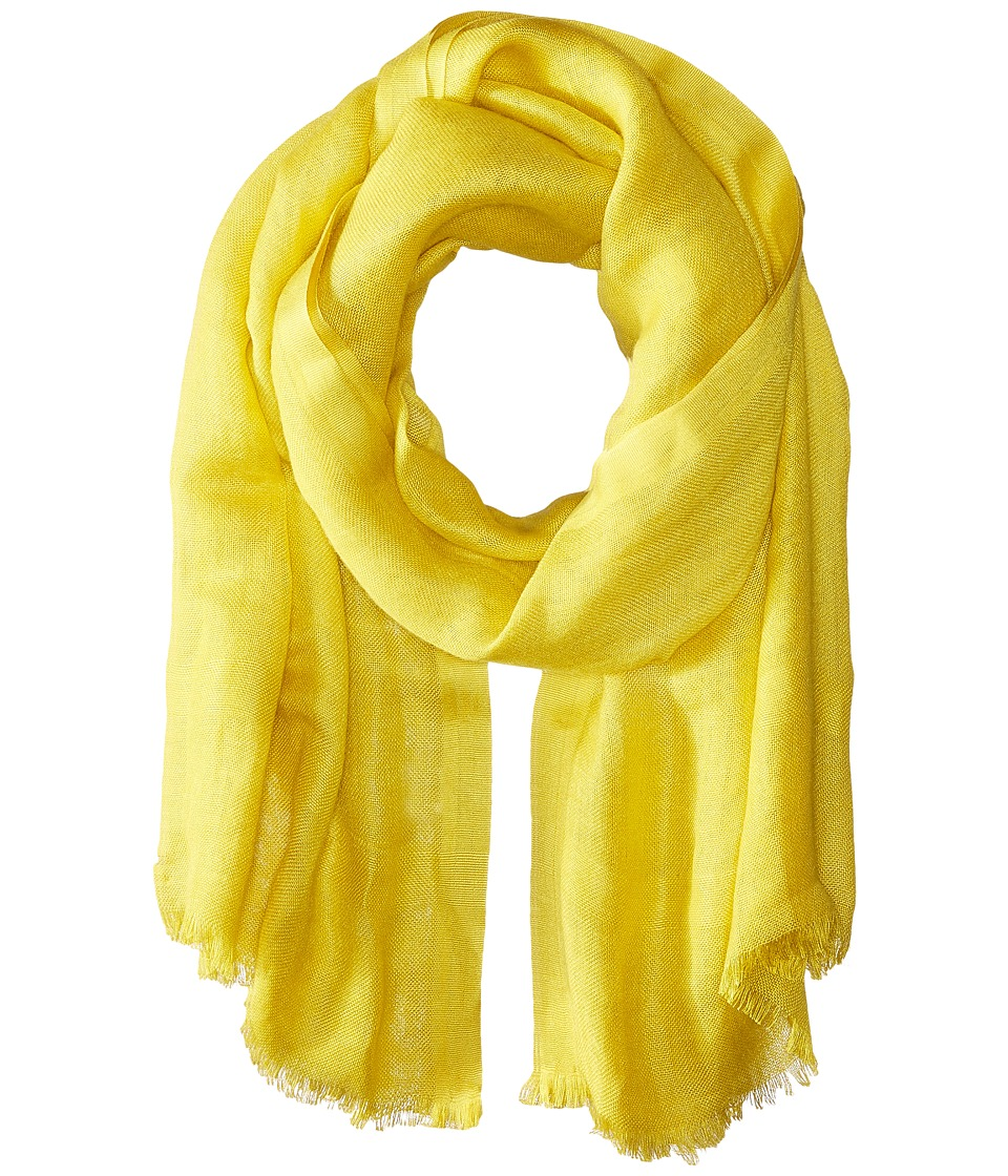Love Quotes Linen Eyelash Scarf Antique Moss Scarves