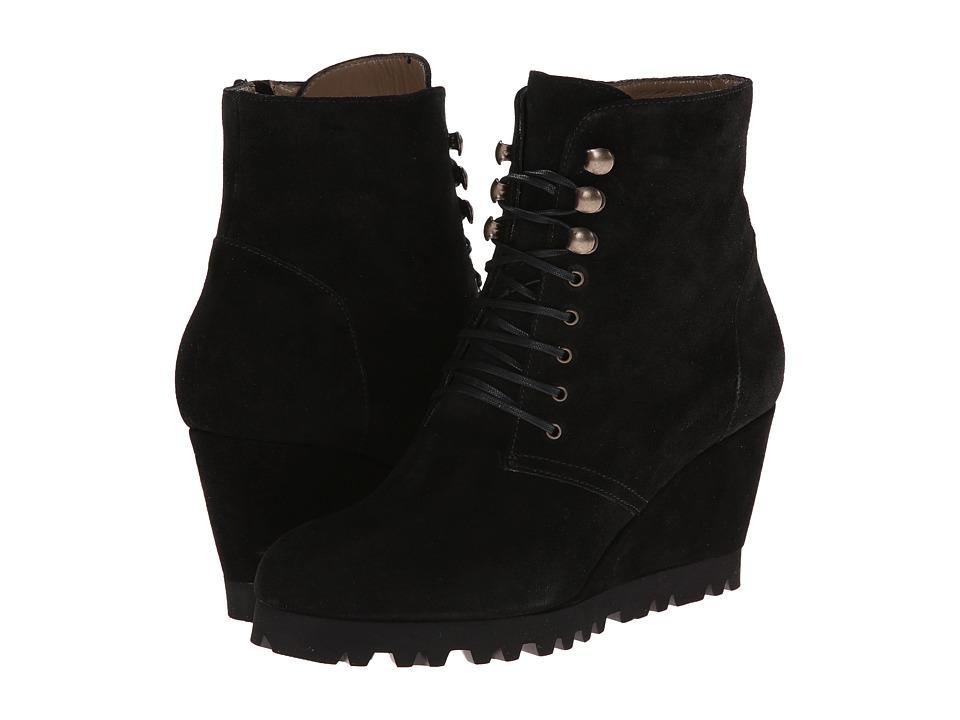 Anyi-Lu-Fiona--(Black-Suede)-Womens-Zip-Boots