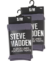 Steve Madden - 2 Pack Fleece Lined Footless Tight