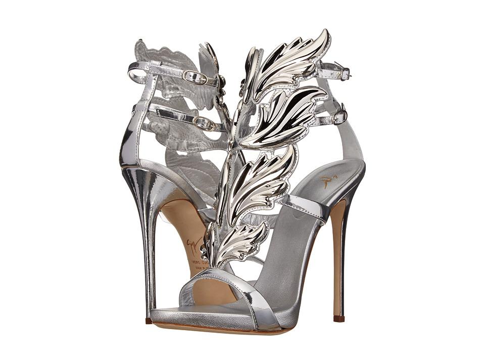 Giuseppe Zanotti E50028 Mirror Argento Womens Shoes