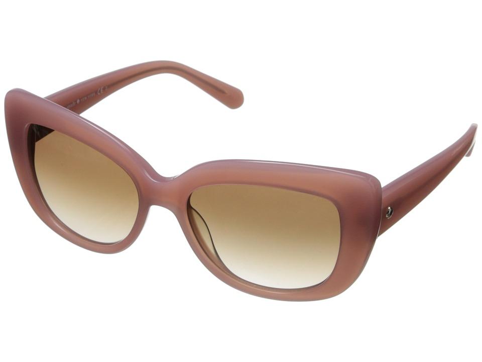 Unique Retro Vintage Style Sunglasses & Eyeglasses Kate Spade New York - Ursula Rose JadeBrown Gradient Fashion Sunglasses $122.99 AT vintagedancer.com
