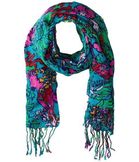 lilly pulitzer murfee scarf multi shake your tailfeather