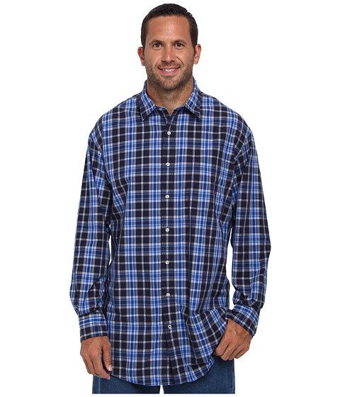 Buy nautica big tall big tall l s purple plaid woven for Big and tall shirts cheap