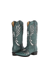 Stetson - Sequin Heart Underlay Snip Toe Boot