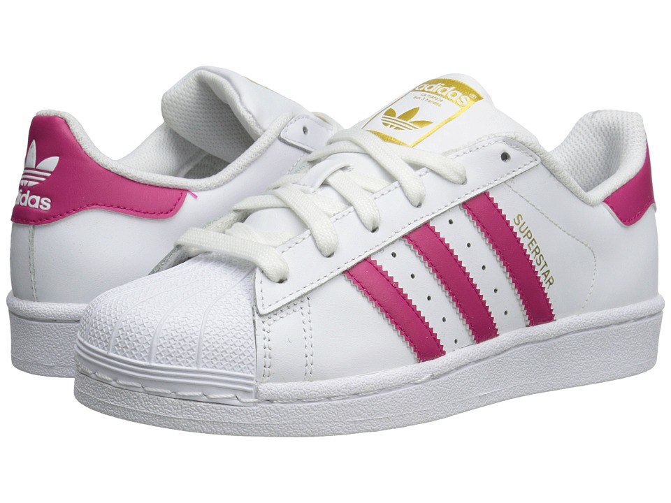 adidas Originals Kids - Superstar (Big Kid) (White/Bold P..