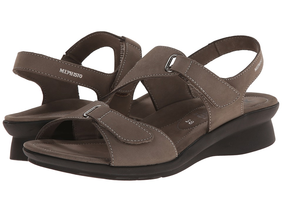 Mephisto - Paris (Pewter Bucksoft) Womens Sandals