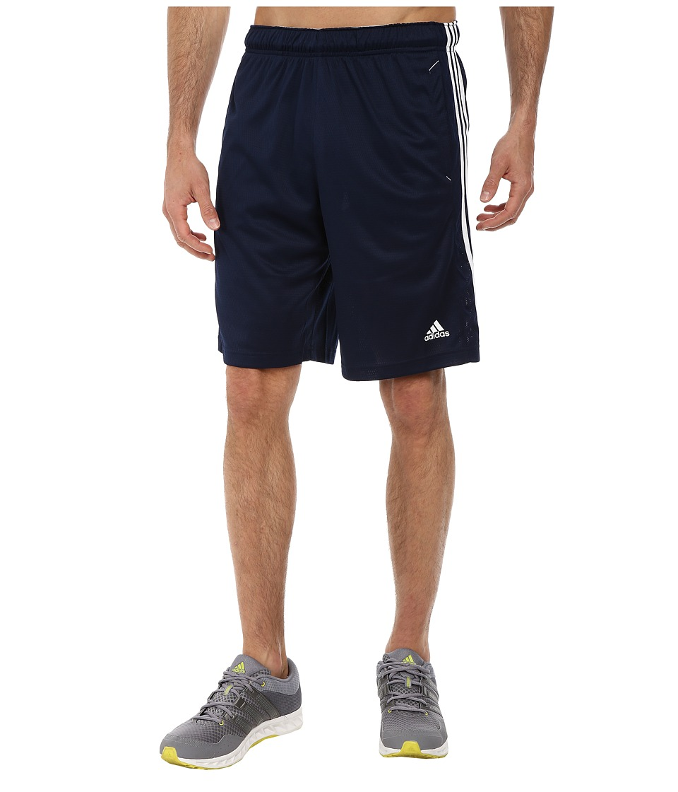 adidas Essential 3S Shorts Collegiate Navy/White Mens Shorts