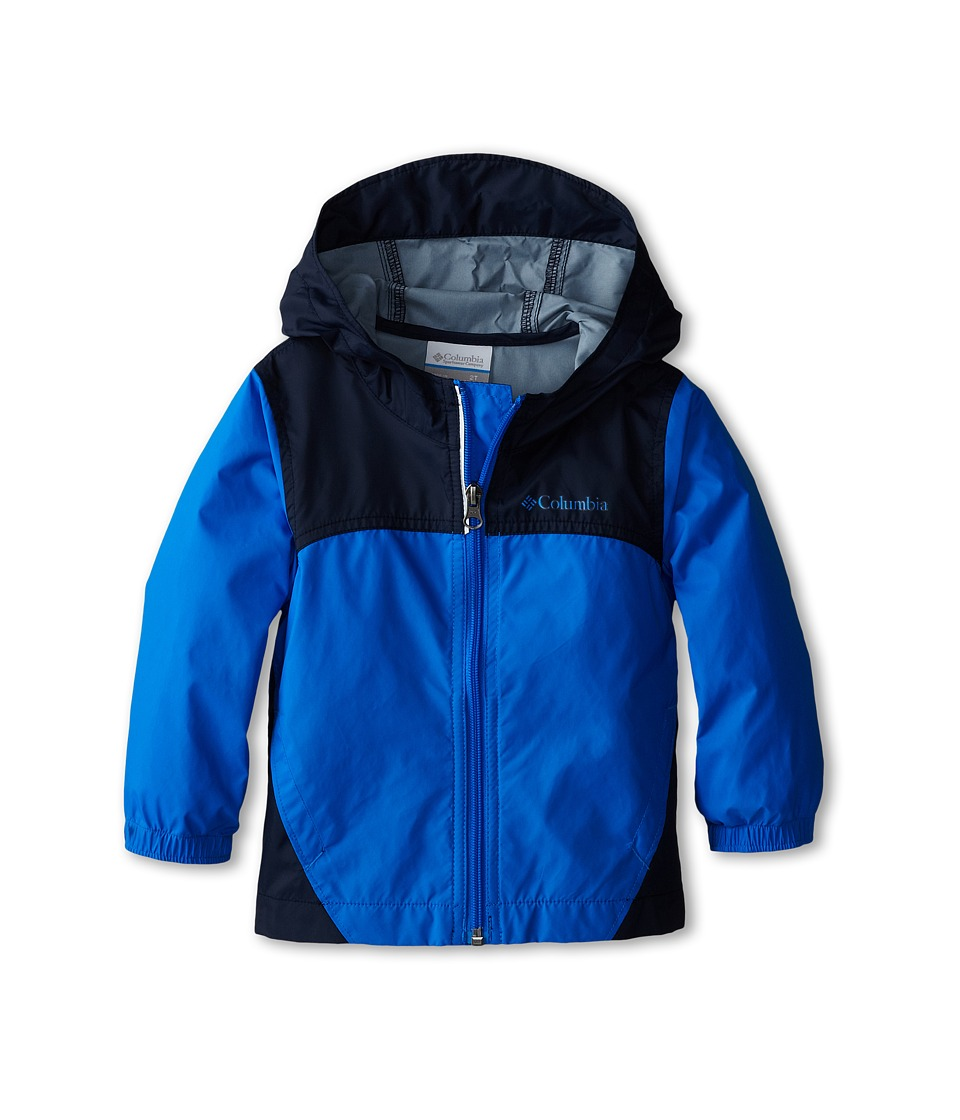 Columbia Kids Glennaker Rain Jacket (Toddler) (Hyper Blue/Collegiate Navy) Boy