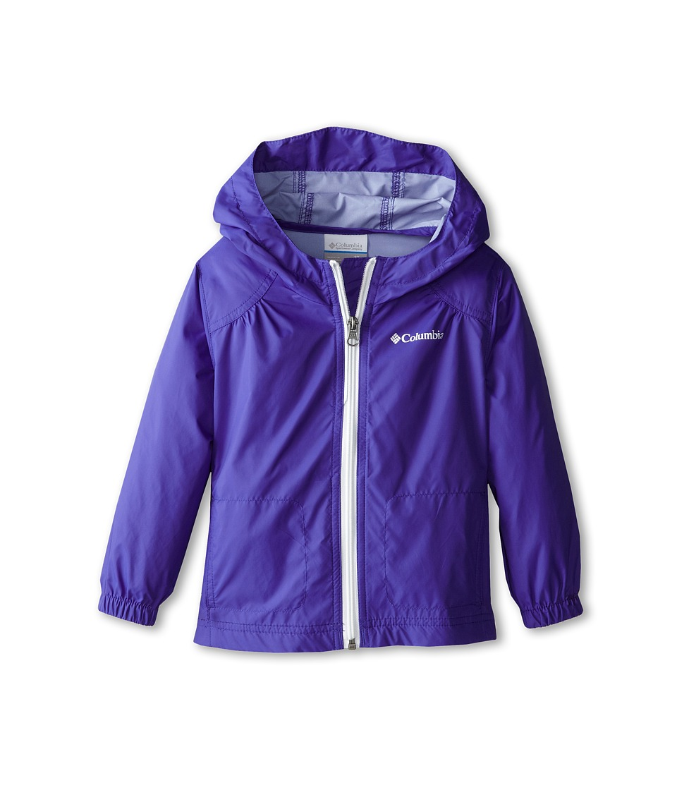Columbia Kids Switchback Rain Jacket (Toddler) (Light Grape/Candy Mint) Girl
