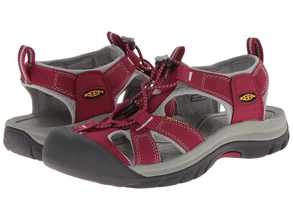 Keen Venice H2 (Beet Red/Neutral Gray) Sandals