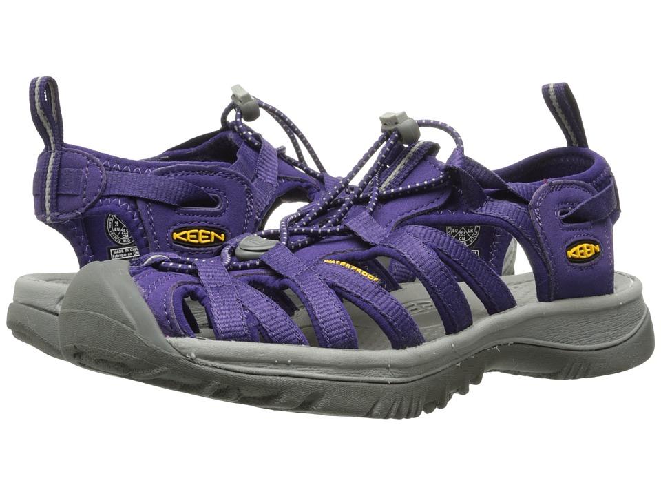 Keen Whisper (Parachute/Neutral Gray) Sandals