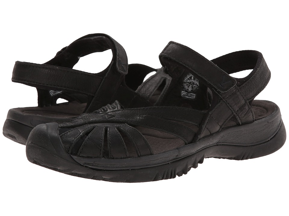 Keen - Rose Leather (Black/Raven) Women