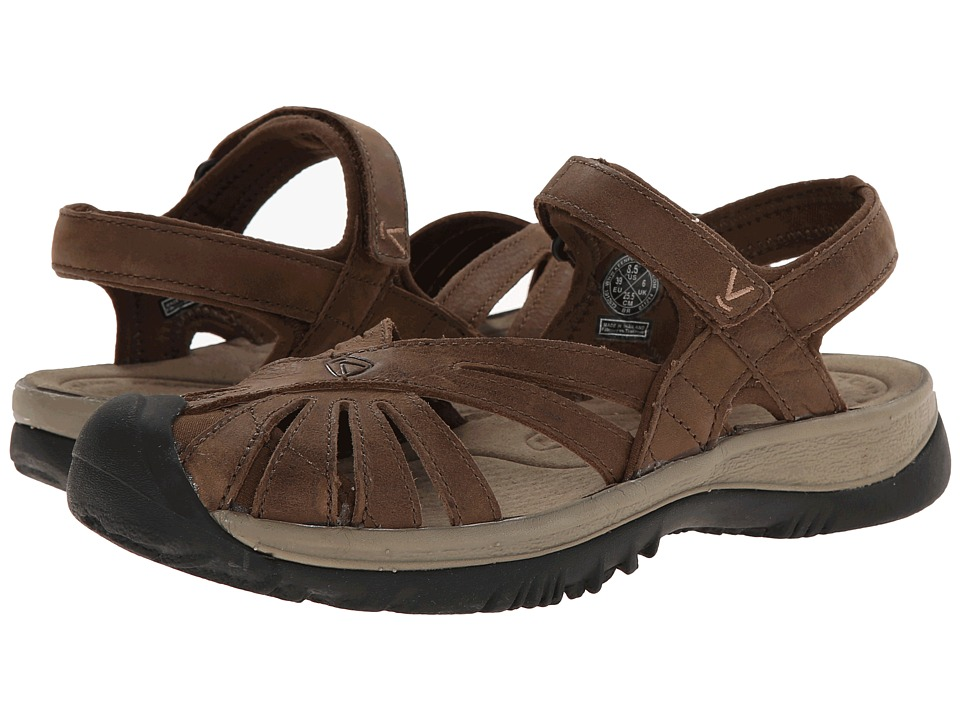 Keen - Rose Leather (Dark Earth/Brindle) Women