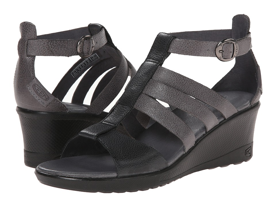 Keen - Victoria Sandal (Gargoyle) Women's Wedge Shoes