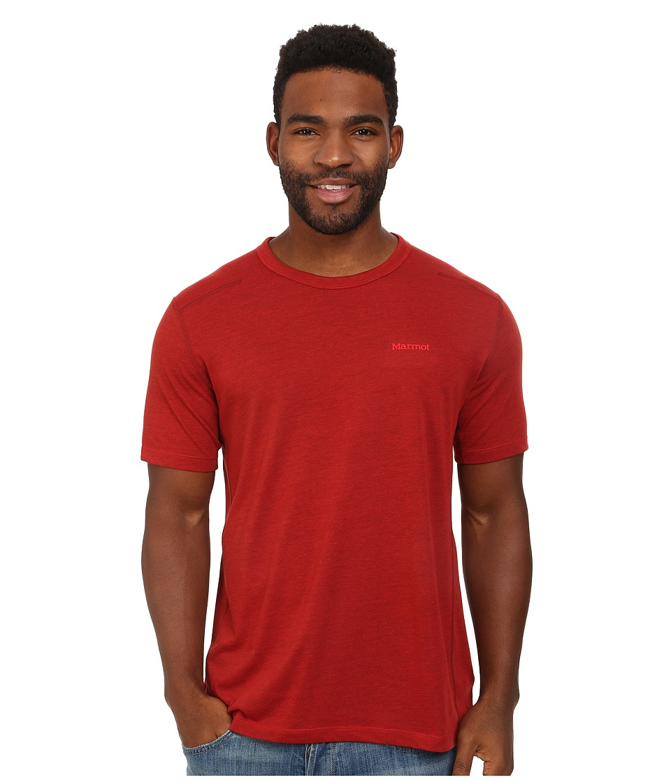 Marmot - Vance S/S (Redstone Heather) Men