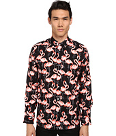 Marc Jacobs - Slim Fit Flamingo Summer Silk Twill L/S Button Up