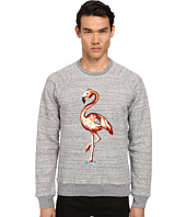 Marc Jacobs - Flamingo Embroidered Swirly Sweatshirt