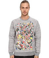 Marc Jacobs - Allover Print Swirly Sweatshirt