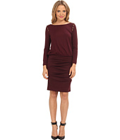 Nicole Miller - Button Shoulder Dress