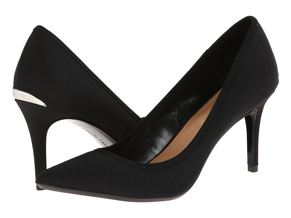 Calvin Klein - Gayle (Black Stretch) High Heels