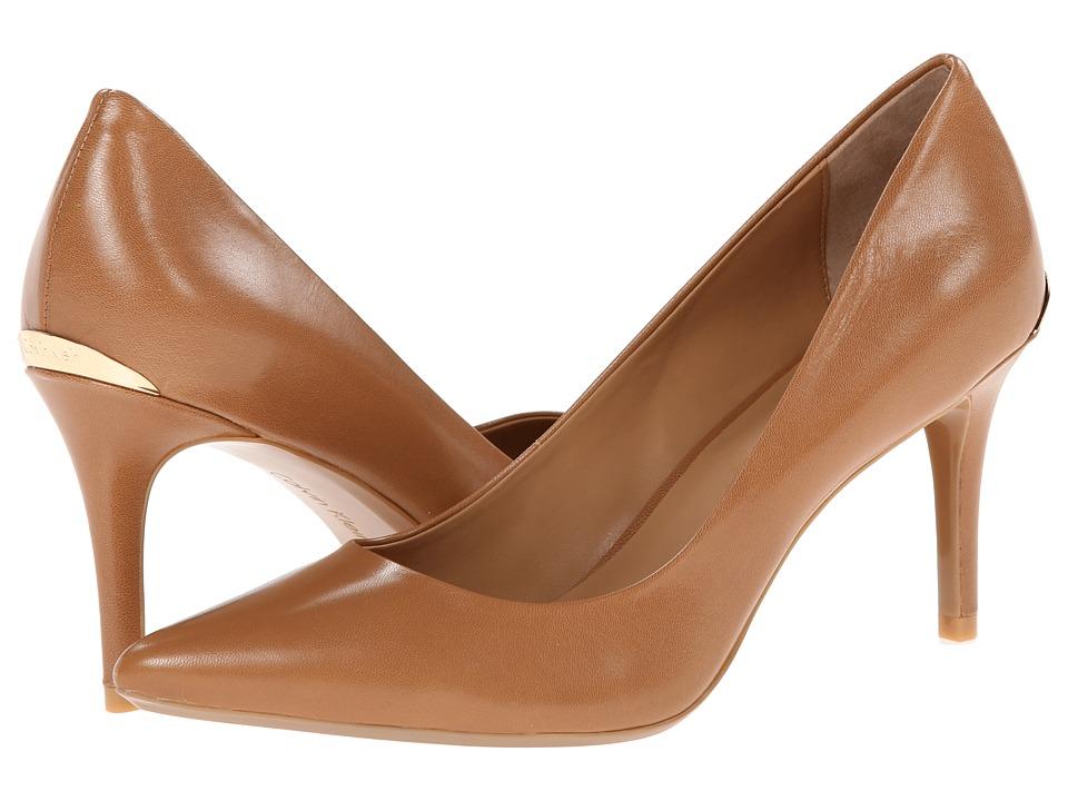 Calvin Klein Gayle Pump (Caramel) High Heels