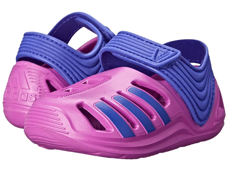 adidas Kids - Zsandal I (Infant/Toddler) (Purple) Girls Shoes