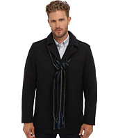 Perry Ellis - Wool Blend Coat w/ Scarf EP822233